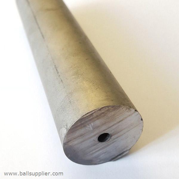 Single straight hole tungsten carbide rod blank